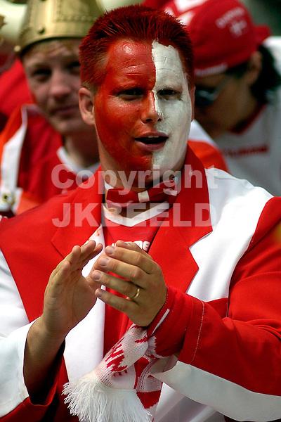 Denemarken fan Europees kampioenschap 2004 Portugal seizoen 2003-2004 18-06-2004