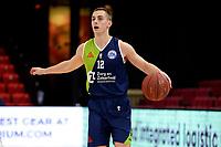 10-04-2021: Basketbal: Donar Groningen v ZZ Leiden: Groningen, Leiden speler Riley Lachance