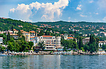 Croatia, Kvarner Gulf, Opatija: villas and hotels alongside Opatija Riviera, the 4-stars-Hotel 'Miramar' | Kroatien, Kvarner Bucht, Opatija: Villen und Hotels entlang der Opatija Riviera, hier das 'Miramar', ein ****S-Hotel