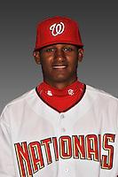 14 March 2008: ..Portrait of Randy Matias, Washington Nationals Minor League player at Spring Training Camp 2008..Mandatory Photo Credit: Ed Wolfstein Photo