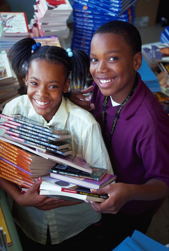 Kids in school, Philadelphia, Pennsylvania