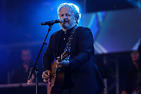 Daniel Belanger performs at the St-Jean Baptist show on the Plains of Abraham in Quebec City during the Fete nationale du Quebec, Friday June 23, 2017.