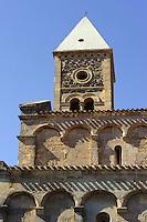 Romanisch-Pisanische Kirche Santa Giusta bei Oristano, Provinz Oristano, West - Sardinien, Italien