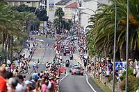 4th September 2021; Sanxenxo to Castro De Herville De Mos, Pontevedra, Spain; stage 20 of Vuelta a Espanya cycling tour; Pelethon