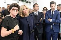 Brigitte MACRON - VERNISSAGE FIAC PARIS 18/10/2017 - FRANCE