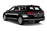 Car pictures of rear three quarter view of 2020 Volkswagen Passat-Variant Elegance-Business 5 Door Wagon Angular Rear