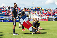 Orlando, Florida - Saturday, June 04, 2016: Flag kids during the pre-game ceremony during a Group A Copa America Centenario match between Costa Rica and Paraguay at Camping World Stadium.