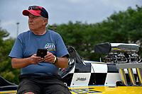 """Mike Noonan, GP-111 """"Advance United"""" (1980 Grand Prix class Lauterbach hydroplane)"""