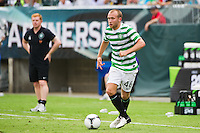 Dylan McGeouch (46) of Celtic F. C.. Real Madrid defeated Celtic F. C. 2-0 during a 2012 Herbalife World Football Challenge match at Lincoln Financial Field in Philadelphia, PA, on August 11, 2012.