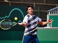 10-07-13, Netherlands, Scheveningen,  Mets, Tennis, Sport1 Open, day three, Paul Capdeville (CHI)<br /> <br /> <br /> Photo: Henk Koster