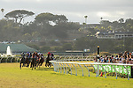 DEL MAR, CA  AUGUST 17:The start of the Del Mar Oaks (Grade 1) on August 17, 2019 at Del Mar Thoroughbred Club in Del Mar, CA.  . (Photo by Casey Phillips/Eclipse Sportswire/CS\PDO1M)\PDO1