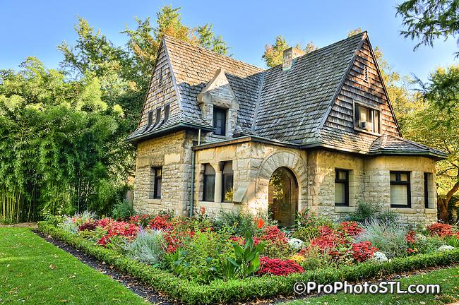 Gateway House at Missouri Botanical Garden in Saint Louis, Missouri.