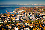 Photos of Anchorage Alaska:Aerial Photography and skylines