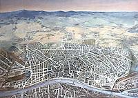Frankfurt: Ansicht von Frankfurt von H. Diehl, Tempera 1934 C69:41. Reference only.