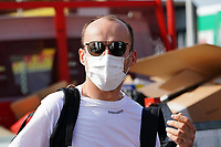 9th September 2021; Nationale di Monza, Monza, Italy; FIA Formula 1 Grand Prix of Italy, Driver arrival and inspection day:  Robert Kubica POL 88, Alfa Romeo Racing ORLEN