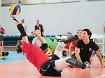 Felicia Voss-Shafiq, Rio 2016 - Sitting Volleyball // Volleyball Assis.<br /> Canada's Womens Sitting Volleyball team plays a practice match vs Team USA // L'équipe canadienne féminine de volleyball assis joue un match d'entraînement contre l'équipe américaine. 06/09/2016.