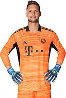 29th August 2021; Munich, Germany; FC Bayern Munich official team portraits for season 2021-22:  Torwart Sven Ulreich