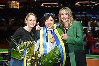 SPEEDSKATING, HEERENVEEN: 24-02-2019, IJsstadion Thialf, ISU World Sprint Speed Skating Championships, Thijsje Oenema, Nao Kodaira, Marianne Timmer, ©photo Martin de Jong