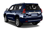 Car pictures of rear three quarter view of 2018 Toyota Land-Cruiser-150 Lounge 5 Door SUV Angular Rear