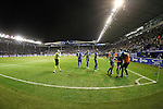 Deportivo Alaves' players celebrate goal during Spanish Kings Cup semifinal 2nd leg match. February 08,2017. (ALTERPHOTOS/Acero)