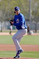 Jeff Samardzija  - Chicago Cubs 2009 spring training.Photo by:  Bill Mitchell/Four Seam Images