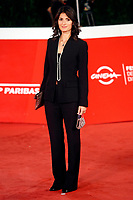 The mayor of Rome Virginia Raggi poses for photographers on the red carpet of the 15th edition of Rome film Fest.<br /> Rome (Italy), October 15th 2020<br /> Photo Samantha Zucchi Insidefoto