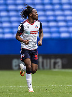 Bolton Wanderers' Peter Kioso looks on  <br /> <br /> Photographer Andrew Kearns/CameraSport<br /> <br /> The EFL Sky Bet League Two - Bolton Wanderers v Oldham Athletic - Saturday 17th October 2020 - University of Bolton Stadium - Bolton<br /> <br /> World Copyright © 2020 CameraSport. All rights reserved. 43 Linden Ave. Countesthorpe. Leicester. England. LE8 5PG - Tel: +44 (0) 116 277 4147 - admin@camerasport.com - www.camerasport.com