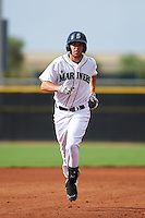 Seattle Mariners Conner Hale (7) runs the bases after hitting a home run during an instructional league intrasquad game on October 6, 2015 at the Peoria Sports Complex in Peoria, Arizona.  (Mike Janes/Four Seam Images)