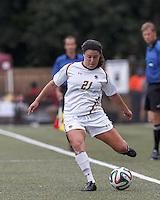 Florida State University (garnet) defeated Boston College (white), 2-0, at Newton Soccer Field, on September 21, 2014.