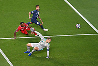 23rd August 2020, Estádio da Luz, Lison, Portugal; UEFA Champions League final, Paris St Germain versus Bayern Munich; Manuel Neuer of FC Bayern Munich makes a double save from Neymar of Paris Saint-Germain