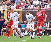 Benny Feilhaber, Tuncay Sunli. The USMNT defeated Turkey, 2-1, at Lincoln Financial Field in Philadelphia, PA.