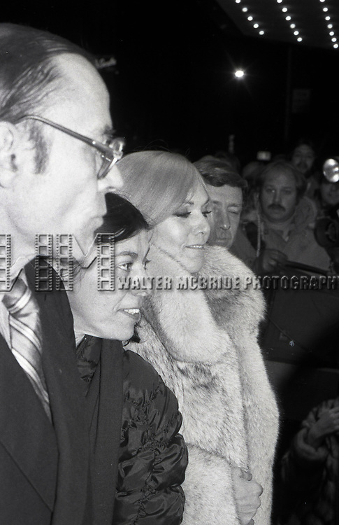 Kim Novak attends 'The Mirror Cracked' Premiere at The Ziegfield Theatre, on December 1, 1980 in<br /> New York City.