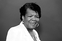 Maya Angelou civil rights activist author, poet and professor speaking in Roxbury Massachusetts 5.1.97