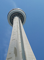 CN Tower, Toronto, ON, one of the tallest free standing structures in the world.