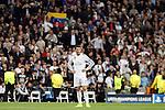 Real Madrid's Cristiano Ronaldo during Champions League soccer match at Santiago Bernabeu stadium in Madrid, Spain. March, 10, 2015. (ALTERPHOTOS/Caro Marin)