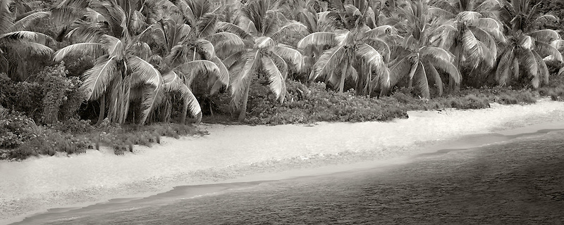 Beach at Jost Van Dyke, British Virgin Islands.