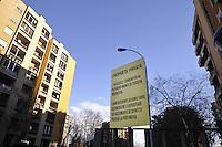 """- Milano, complesso edilizio residenziale """"Sporting Mirasole"""" a Noverasco di Opera<br /> <br /> Milan, residential building complex """"Sporting Mirasole"""" at Noverasco di Opera"""