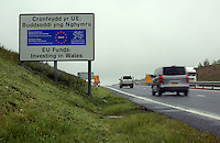"Pictured: The A465 north of Merthyr Tydfil in south Wales, UK. STOCK PICTURE<br /> Re: Inquest into the death of Louise Hopkins, who died after being hit by a van in Merthyr Tydfil on Bonfire Night in 2015.<br /> Ms Hopkins, 41, suffered fatal injuries after she was hit while walking away from a broken-down vehicle on the A465 between Pant and Dowlais.<br /> Members of her family paid tribute to her, calling her a ""hard working and loving mother""."