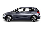 Car Driver side profile view of a 2017 BMW 2-Series-Active-Tourer Luxury 5 Door Mini MPV Side View