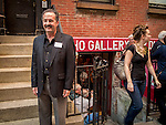Michael Knapstein standing in front of the SoHo Gallery of Digital Art in New York City, where his work was exhibited in September, 2013 after winning Grand Prize in a juried competition from the New York Center for Photographic Art.
