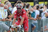 15th September 2020; Lyon, France; Tour De France 2020, La Tour-du-Pin to Villard-de-Lans, stage 16; Sebastien Reichenbach Switzerland Groupama - Fdj