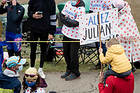 """Allez Julian""<br /> up the Col de Marie Blanque (1st Cat)<br /> <br /> Stage 9 from Pau to Laruns (153km)<br /> <br /> 107th Tour de France 2020 (2.UWT)<br /> (the 'postponed edition' held in september)<br /> <br /> ©kramon"