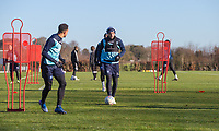 Michael Harriman of Wycombe Wanderers during the Wycombe Wanderers Training session at Wycombe Training Ground, High Wycombe, England on 17 January 2019. Photo by Andy Rowland.