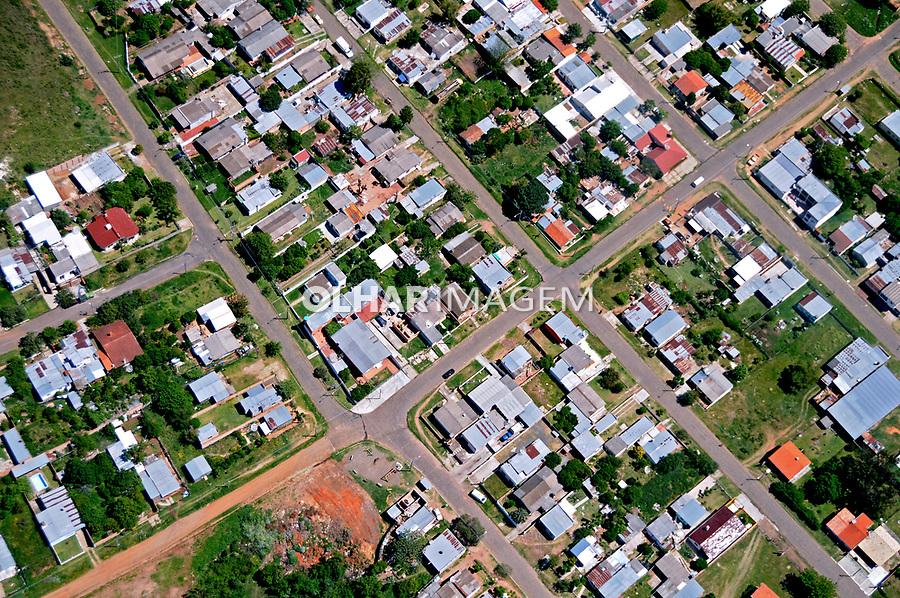 Aérea da cidade Santana do Livramento. Rio Grande do Sul. 2009. Foto de Zig Koch.
