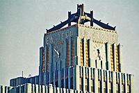 Los Angeles: Eastern Columbia Building,  849 S. Broadway, 1929.  Architect Claude Beelman.  Photo 1987.