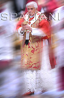 50th anniversary of the death of  Pius XII, Benedict XVI  mass the St.Peter's Basilica Oct 9, 2008
