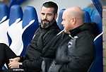 St Johnstone v Ross County…..29.12.19   McDiarmid Park   SPFL<br />Ross County management duo Stuart Kettlewell and Steve Ferguson before kick off<br />Picture by Graeme Hart.<br />Copyright Perthshire Picture Agency<br />Tel: 01738 623350  Mobile: 07990 594431