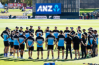 23rd March 2021; Christchurch, New Zealand;  The Black Caps get ready for the 2nd ODI cricket match, Black Caps versus Bangladesh, Hagley Oval, Christchurch, New Zealand.