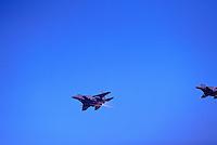German Luftwaffe / German Air Force Tornadoes Military Aircraft flying in Formation - at Abbotsford International Airshow, BC, British Columbia, Canada