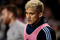 CARSON, CA - MARCH 07: Fredy Montero #12 of the Vancouver Whitecaps during a game between Vancouver Whitecaps and Los Angeles Galaxy at Dignity Health Sports Park on March 07, 2020 in Carson, California.
